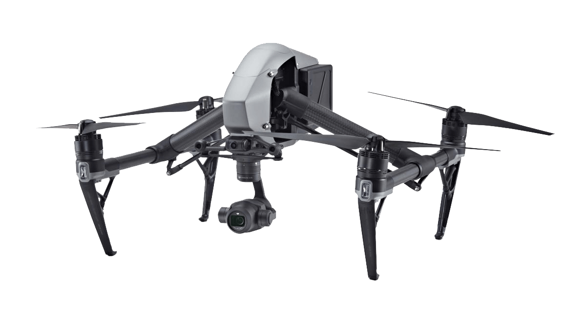 DJI Inspire used for Aerial Filming